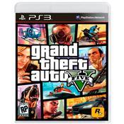 Jogo Grand Theft Auto GTA V Para Playstation 3 PS3 Rockstar