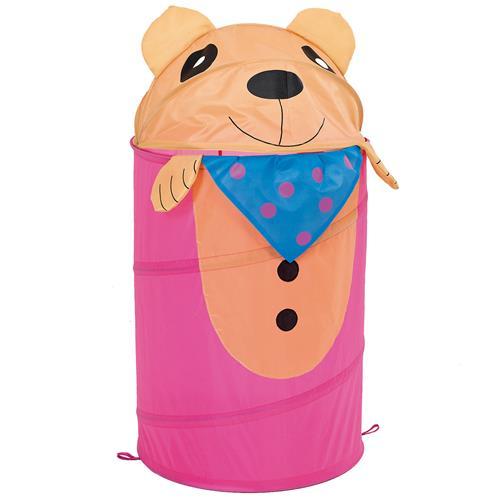 Porta-Objetos E Brinquedos Infantil Ursinhos 2087 Mor