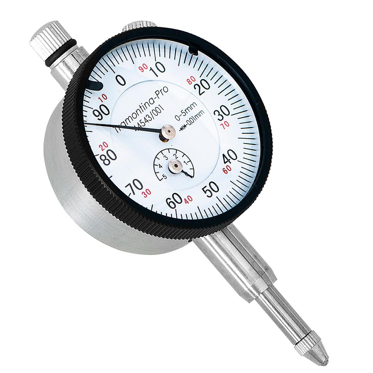 Relógio Comparador 25Mm Em Alumínio 44543003 Tramontina