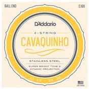 Encordoamento Para Cavaquinho 011 013 023 028 Pol Ej93 D Addário
