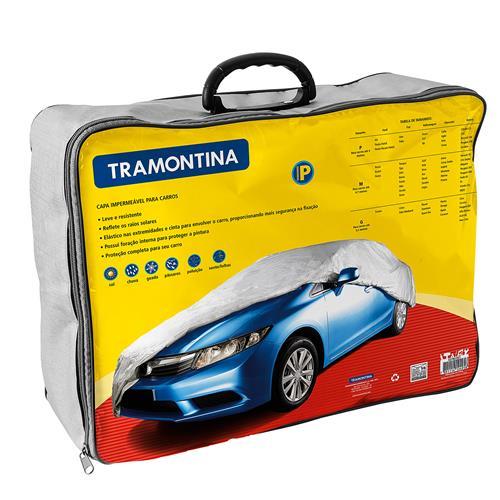 Capa Impermeável Para Carros Até 4M 43780001 Tramontina