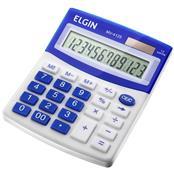 Calculadora De Mesa Visor Lcd Solar E Bateria Mv4125 Elgin