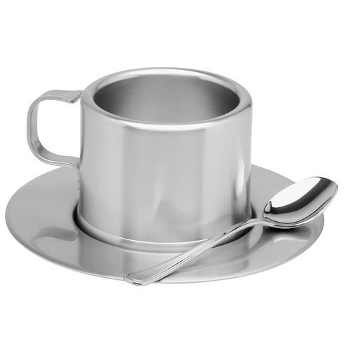 Jogo Para Chá 6 Peças Em Aço Inoxidável 64470900 Tramontina