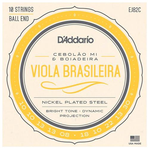 Encordoamento De Viola Brasileira Cebolão Mi Ej82c D Addarío