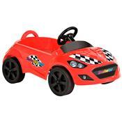 Mini Veículo Roadster Vermelho Com Pedal 427 Bandeirante