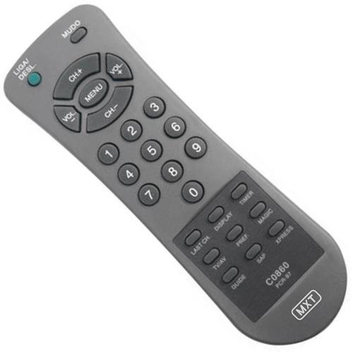 Controle Remoto Para Tv Philco Pcr-97F 0860 Mxt