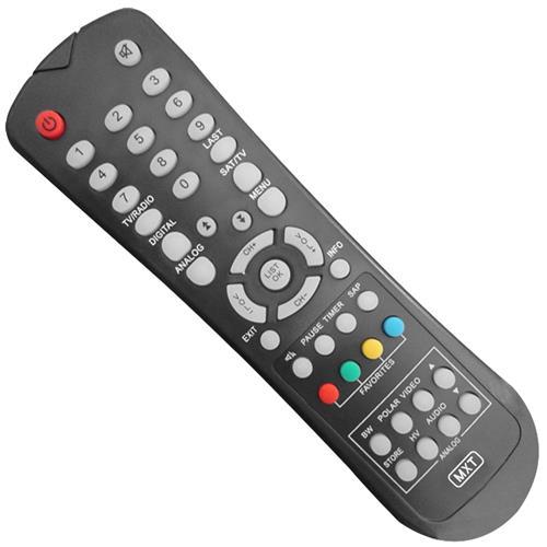 Controle Remoto Para Tv Digital Orbisat 01148 Mxt