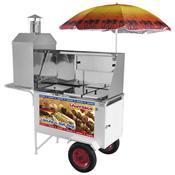 Carrinho Combinado 3x1 Churrasco Lanche Hot Dog CHLCL012 Armon