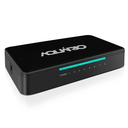 Switch 8 Portas De 10/100 Mbps Full Duplex Sw0811 Aquário