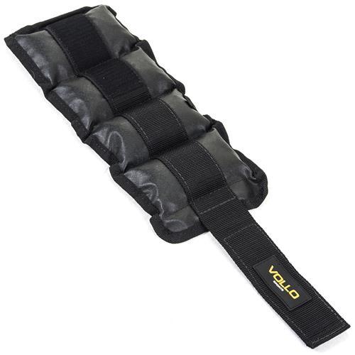 Par Caneleira De Peso 2 Kg Fechamento Em Velcro Vm302 Vollo