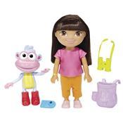 Conjunto Boneca Dora Aventureira E Botas Bmn55 Mattel