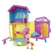 Conjunto Boneca Polly Pocket Super Clubhouse Dhw41 Mattel
