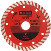 Disco Diamantado Turbo 125mm 500t Br Tools Pro BR Motors
