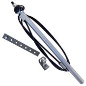 Antena Veicular 510 Universal 3 Estágios 5118 Metalcerta