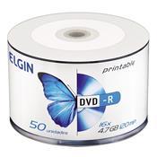 Mídia Dvd-R 4.7Gb Pino 50 Unidades 16X 120 Min 248654 Elgin