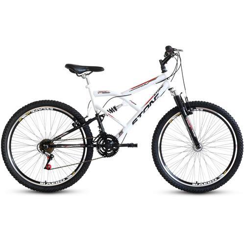 Bicicleta Kanguru 72R Aro 26 Freio V Brake 21 Marchas Stone Bike