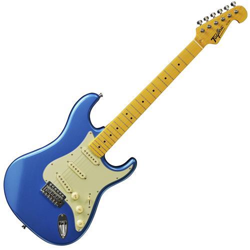 Guitarra Strato Woodstock Maple Azul Tg530lb Tagima