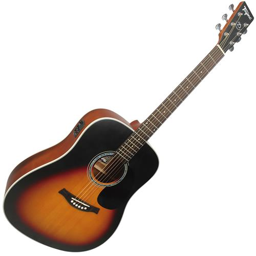 Violão Eletroacústico Folk Woodstock Sunburst Tw25ds Tagima