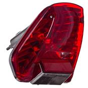 Lanterna Traseira Para Honda Twister Lt12h Pro Tork Vermelha