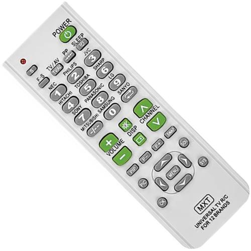 Controle Remoto Para Universal Televisor CO1063 MXT