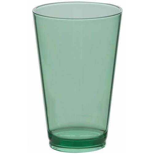 Copo Alto De Plástico 450Ml Verde 320Vd Ricaelle