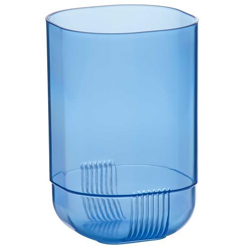 Copo De Plástico 450Ml Mônaco Azul 017Az Ricaelle
