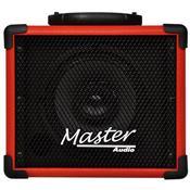 Caixa De Som Multiuso 20W Rms Vermelho Mu80btvm Master Áudio