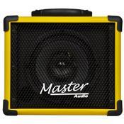 Caixa De Som Multiuso 20W Rms Amarelo Mu80btam Master Áudio