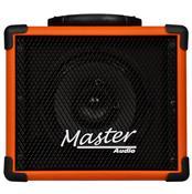 Caixa De Som Multiuso 20W Rms Laranja Mu80bttg Master Áudio
