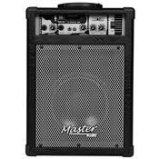 Caixa De Som Multiuso 30W Rms Preto Mu120bt Master Áudio