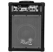 Caixa De Som Multiuso 55W Rms Preto Mu180bt Master Áudio