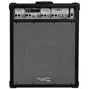 Caixa De Som Multiuso 75W Rms Preta Mu240bt Master Áudio