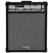 Caixa De Som Multiuso 125W Rms Preta Mu600bt Master Áudio