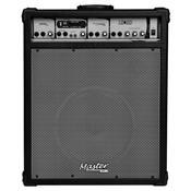 Caixa De Som Multiuso 200W Rms Preta Mu800bt Master Áudio