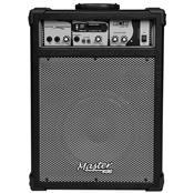 Caixa De Som Multiuso 40W Rms Preta Mu160bt Master Áudio