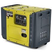Gerador De Energia À Diesel Monofásico 13Hp Tdg8000sle Toyama
