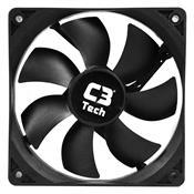 Cooler Para Gabinete Bk Storm 3 Pinos F7-100 C3 Tech