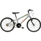 Bicicleta Mtb Aro 20 Monomarcha Masculina Prata 7137 Polimet