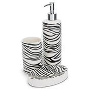 Kit Para Banheiro Em Cerâmica 3 Peças Ghb-070 Hauskraft