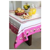 Toalha De Mesa Cupcake 4 Lugares Branco 10521 Decor E Casa