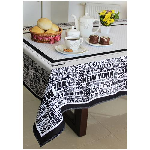 Toalha De Mesa New York 4 Lugares Oxford 10553 Decor E Casa