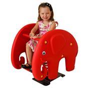 Molengo Elefante Vermelho Playground Henri Trampolim