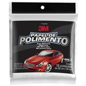 Papel Para Polimento Automotivo 10 Folhas 30X29cm 217138 3M