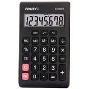 Calculadora Pessoal Com 8 Dígitos Preto 283 Truly