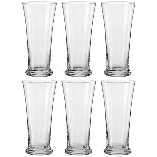 Jogo 6 Taças Cristal 300Ml Beer 25118/300-6 Bohemia