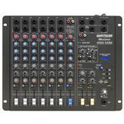 Mesa De Som Mixer 8 Canais Com Entrada Usb Amw-8 Esd Wattsom