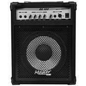 Cubo Amplificador 100W Rms Para Contra Baixo Bx100 Master Áudio