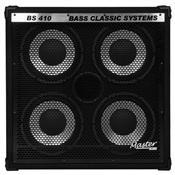 Caixa Acústica Bass Classic 400W 4X10 Pol Bs410 Master Áudio