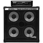 Set De Baixo Amplificador 200W 4 X 10 Pol Sbk400 Master Áudio