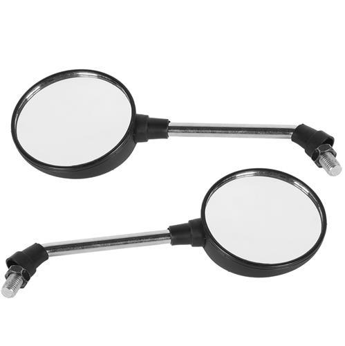 Par De Espelho Retrovisor Mini Universal Cromado Ee-109H Pro Tork